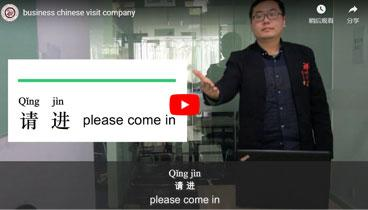 Business Chinese Visit Company